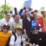 theme park team building