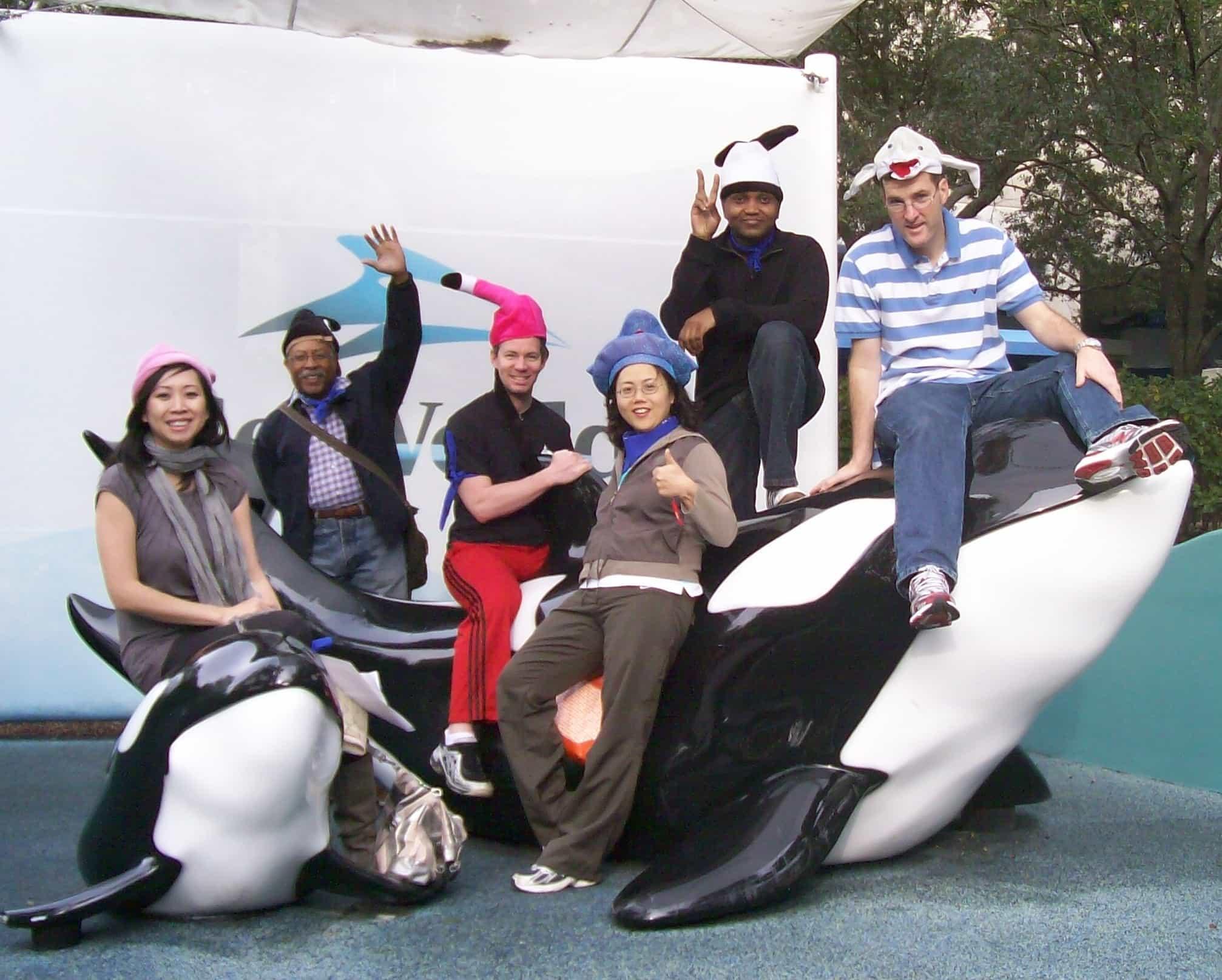 Team building SeaWorld Orlando