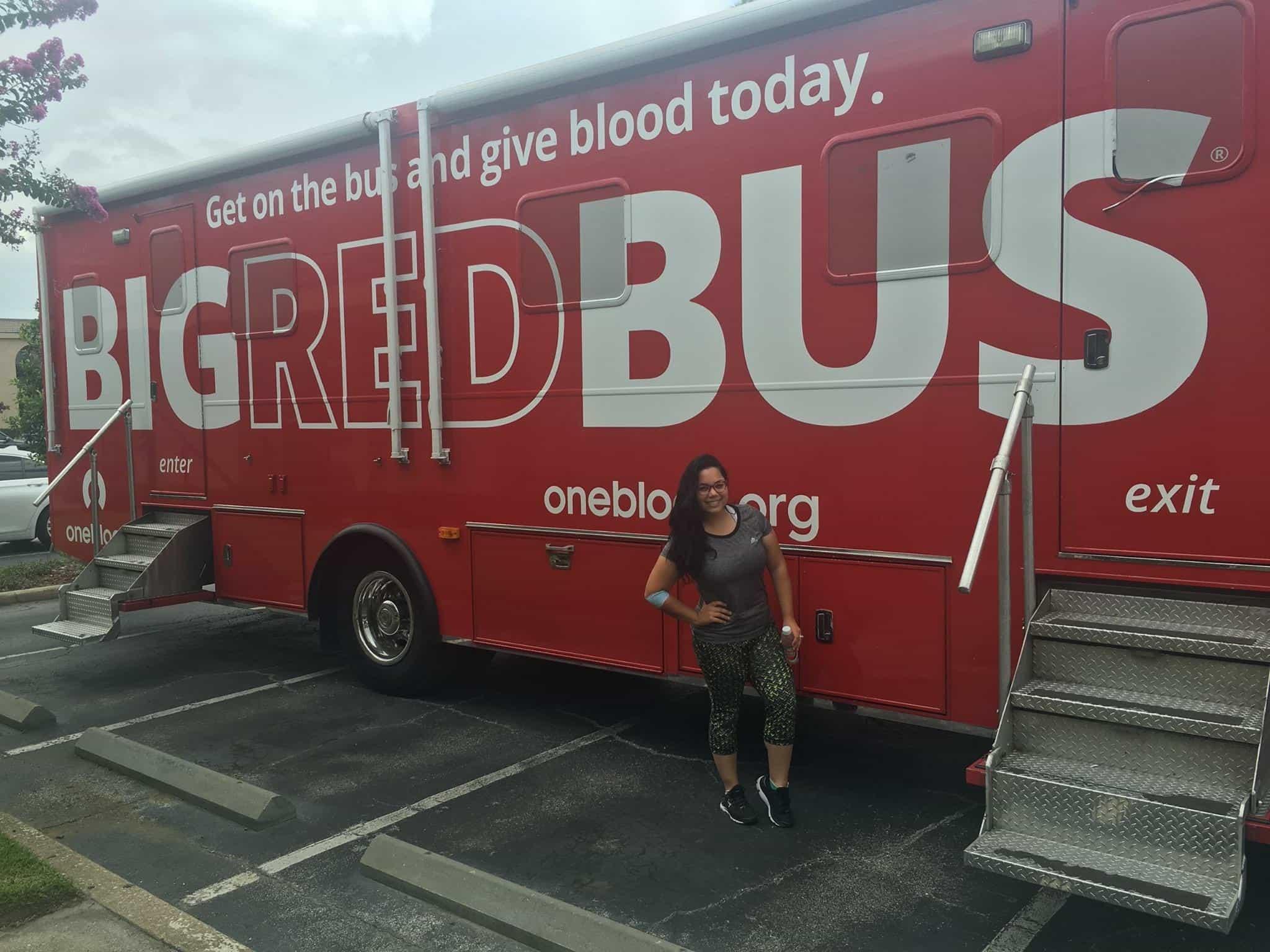Custom team building events blood donation
