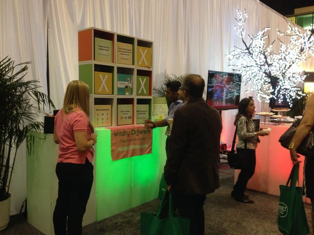 Trade Show Booth Quiz : Trade show games activities tips wildly different