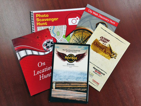 sample scavenger hunt books
