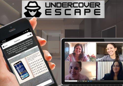 undercover escape hybrid game
