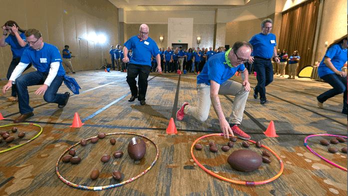 fun competitive team bonding event