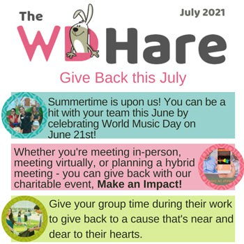 Wildly Different July Newsletter